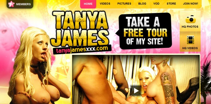 Tanya James Official Site
